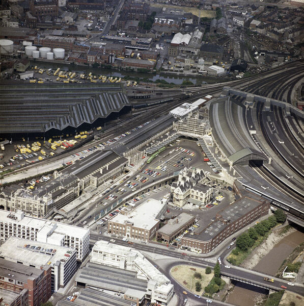 Temple Meads Railway Station, Bristol, 1975