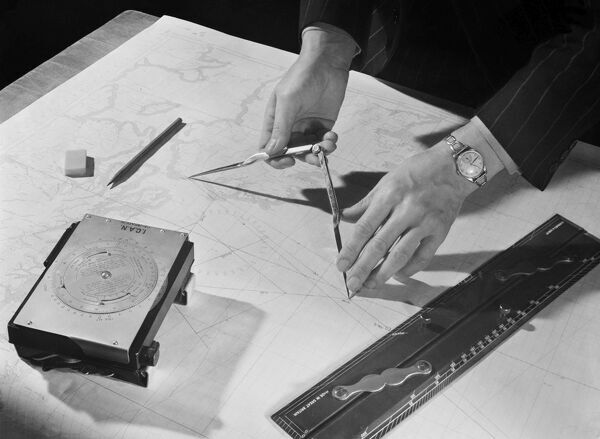 The use of compasses AA093545. © Historic England Archive