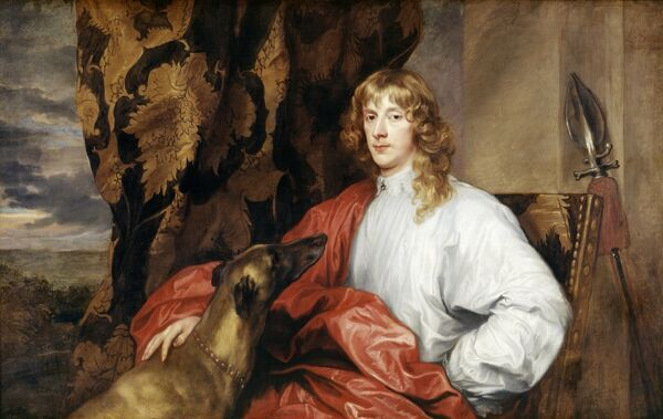 "KENWOOD HOUSE, THE IVEAGH BEQUEST, London. ""James Stuart, Duke of Richmond and Lennox"" c1636 by VAN DYCK Sir Anthony (1599-1641) IBK 948"