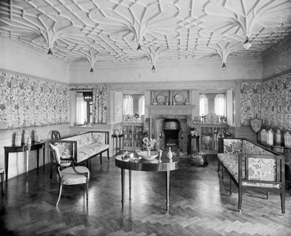 Victorian Drawing Room Bl12849b Bidston Court Birkenhead Photo