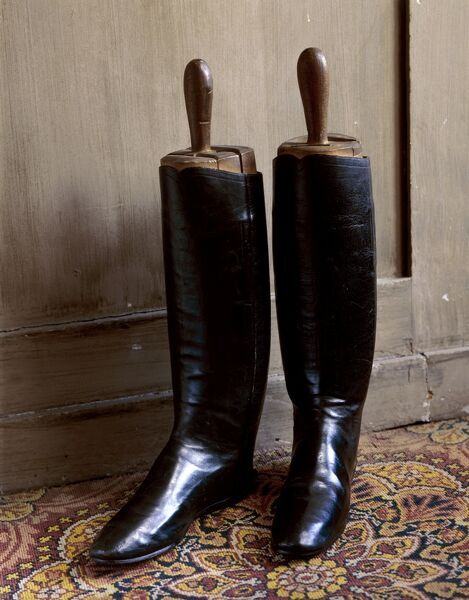 WALMER CASTLE AND GARDENS, Kent. Duke of Wellington's boots