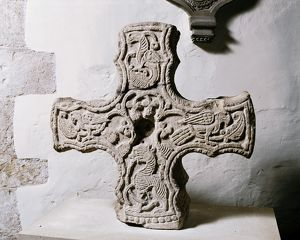 Anglo-Saxon Cross head AA058966