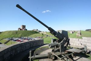 Anti-aircraft gun, Dover Castle N060651