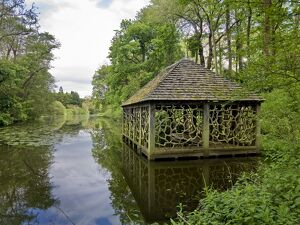 Boathouse in Witley Court Gardens N090085