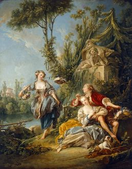 Boucher - Flower Gatherers J910024