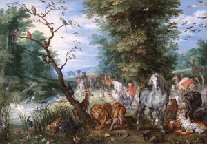 Brueghel - Entering the Ark N070593