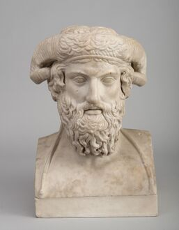 Bust of Zeus Ammon N100779