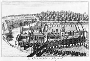 The Charterhouse Hospital c.1740 N990020
