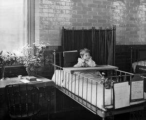 Child in hospital BL12178_001