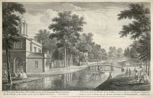Chiswick House engraving N110153