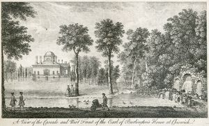 Chiswick House engraving N110154