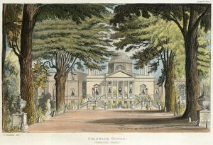 Chiswick House engraving N110155
