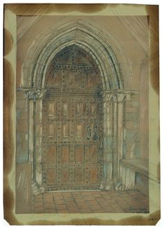 Church Door, Shere MD41_00051