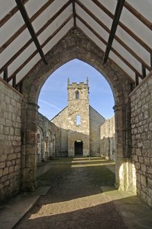 heritage/care/church st martin wharram percy medieval village