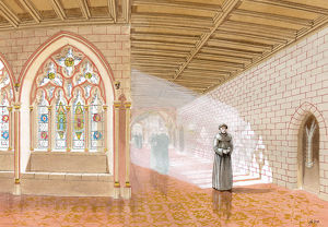 heritage/reconstructing past monastic illustrations/cloister walk thornton abbey ic204 002