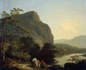 Corbould - Classical Landscape with a Lake J910516