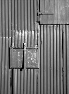 Corrugated iron N080026