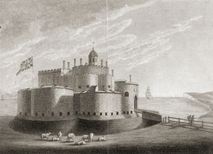 Deal Castle engraving K041008