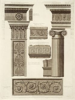Designs for Kenwood from Robert Adam's 'Works' J920129