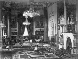 The Drawing Room, Osborne House c.1890 D880036