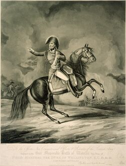 Duke of Wellington at the Battle of Waterloo J050174