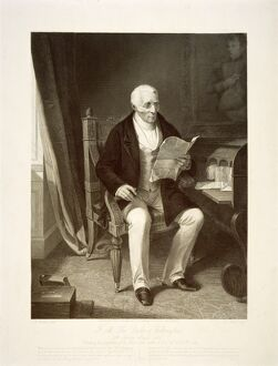 The Duke of Wellington reading despatches J050176