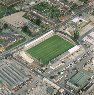 Edgar Street, Hereford AFL03_Aerofilms_613749