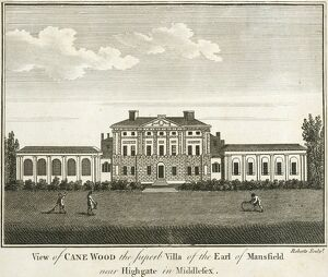 Engraving of Kenwood House N110148