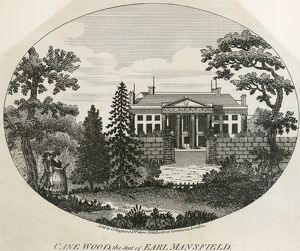 Engraving of Kenwood House N110149