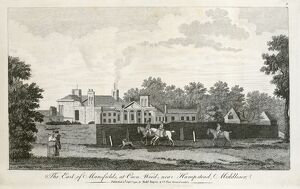 Engraving of Kenwood House N110150