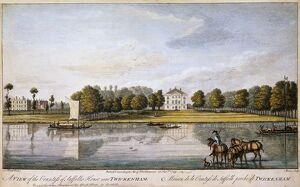 Engraving of Marble Hill House J900203