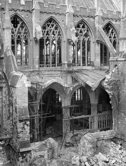 Exeter Cathedral bomb damage BB42_00740