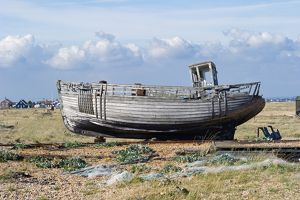 Fishing boat, Dungeness Beach N100298