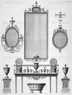 Furniture designs for Kenwood from Adam's 'Works' J920247