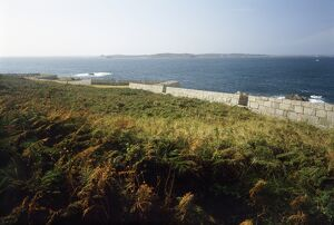 Garrison Walls, St Mary's, Isles of Scilly K920423