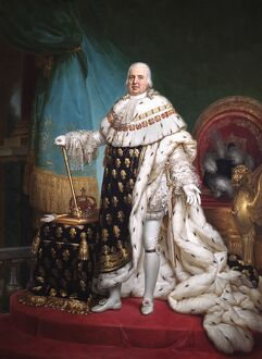 Gerard - Louis XVIII, King of France N070442