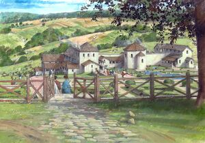 Great Witcombe Roman Villa N080253