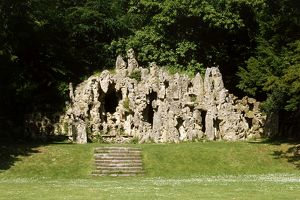 Grotto at Old Wardour Castle K951544