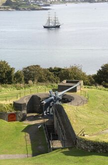 Gun battery at Pendennis Castle N080669