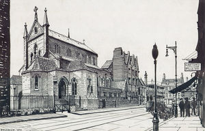 fine art/illustrations engravings/holy trinity church bermondsey me001036