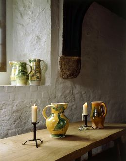 Interior detail of Medieval Merchants House J880168