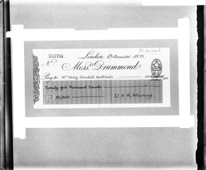 Inventor's Cheque BL23095