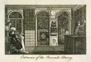 historic images/lost london/juvenile library 157 new bond street 1801 j000139