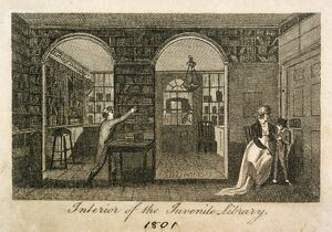 historic images/lost london/juvenile library 157 new bond street 1801 j000140