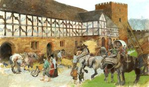 Kenilworth Castle Stables N090097