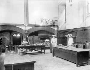 Kitchen, New College, Oxford, 1901 CC49_00204