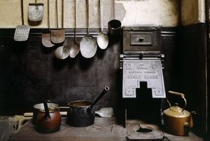 Kitchen utensils, Brodsworth Hall K950478