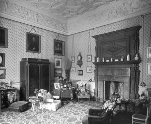 architecture/interiors/lady braybrookes sitting room audley end house