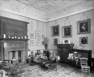 Lady Braybrooke's sitting room, Audley End House DD58_00108