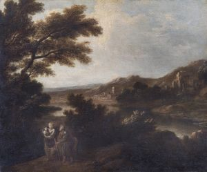 Landscape with Flight into Egypt N070515